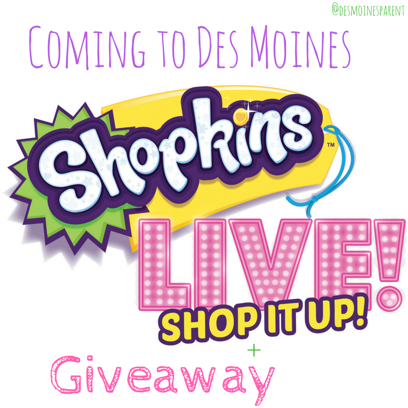 Shopkins Live! + Giveaway