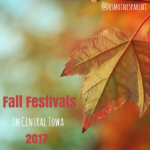 Fall Festivals in Central Iowa 2017