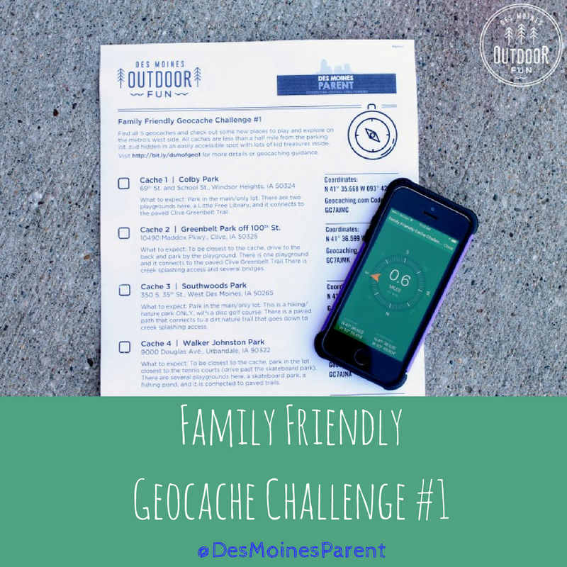 Family Friendly Geocache Challenge #1