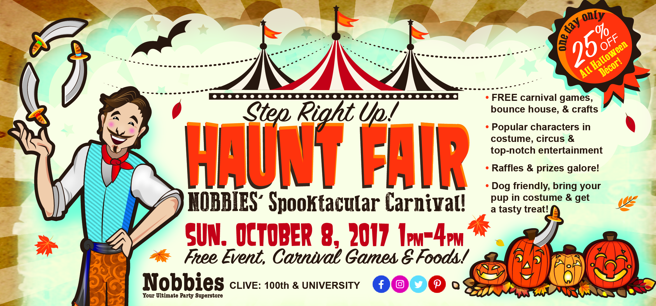 Nobbies: Annual Haunt Fair 2017