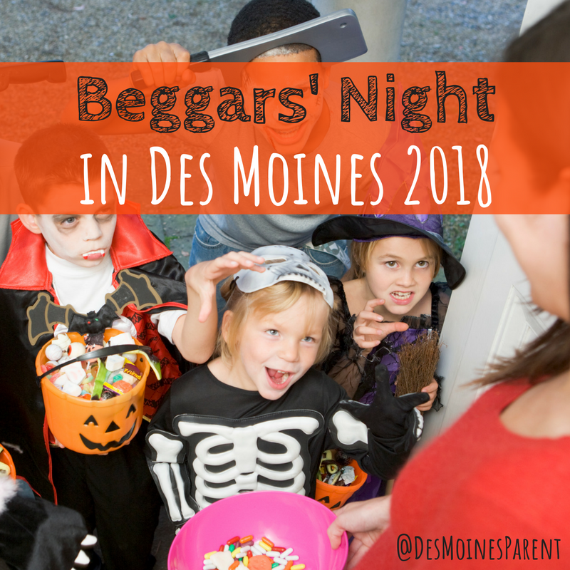 Beggars' Night in Des Moines and Surrounding Communities 2018