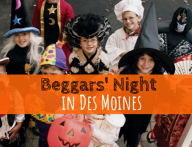 Beggars' Night, trick or treat, Halloween, Des Moines, Iowa, candy, costumes