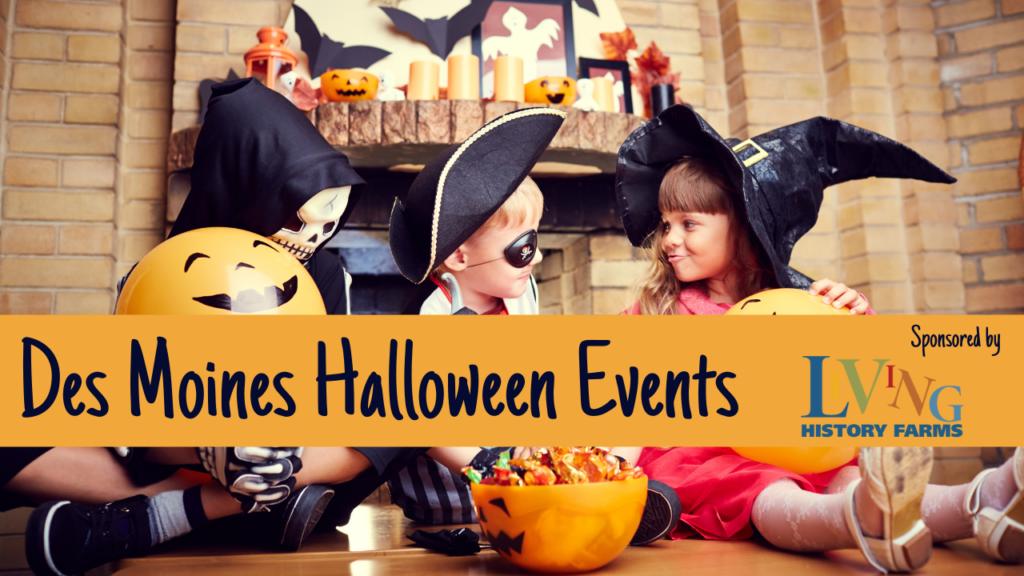 Halloween events, halloween activities, fall, Des Moines, iowa