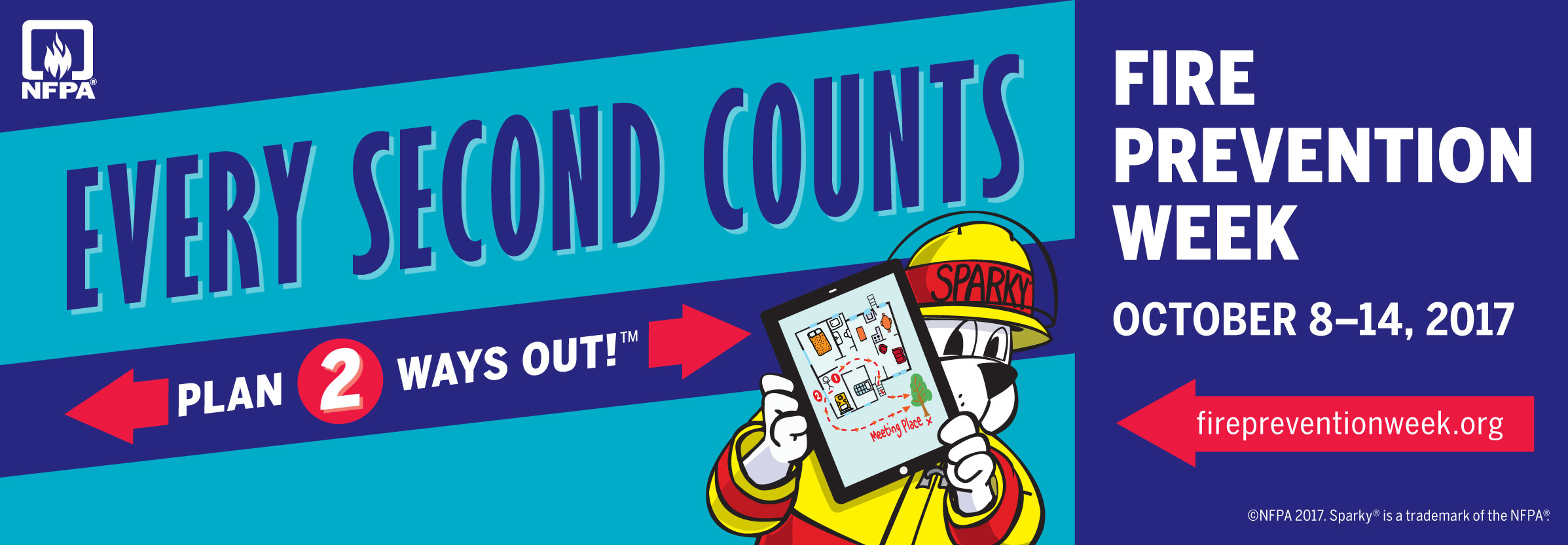 Every Second Counts: Fire Prevention Week 2017