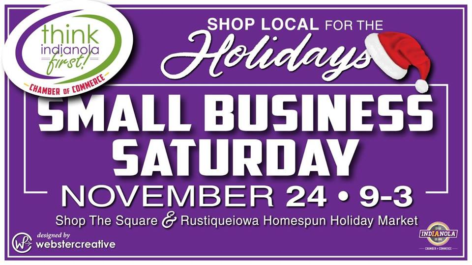 Small Business Saturday, Indianola