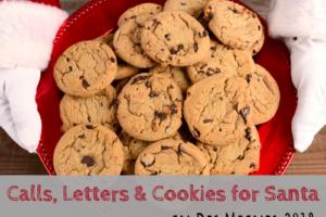 cookies, letters, santa,