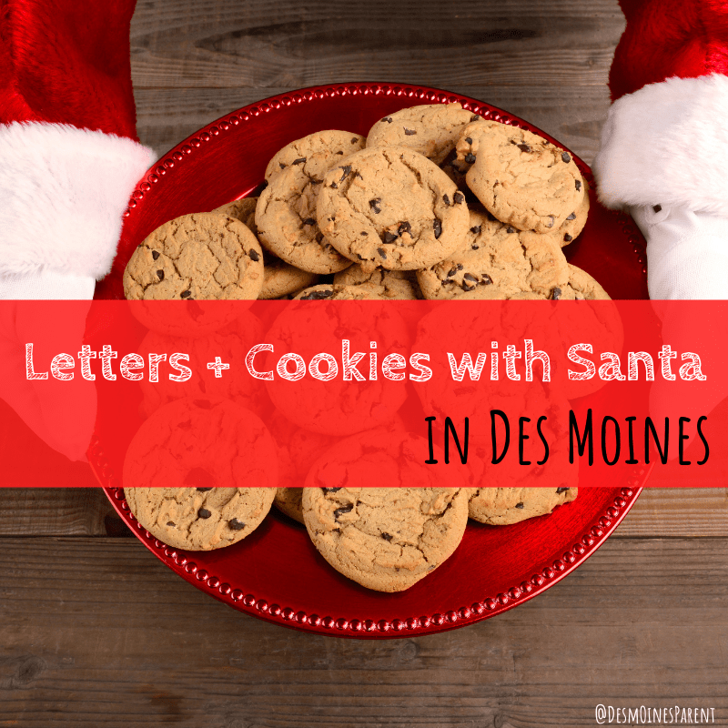 Letters + Cookies with Santa in Des Moines