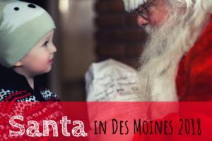 Santa, Des Moines, Iowa