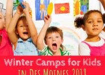 Winter, Winter Camps, Des Moines