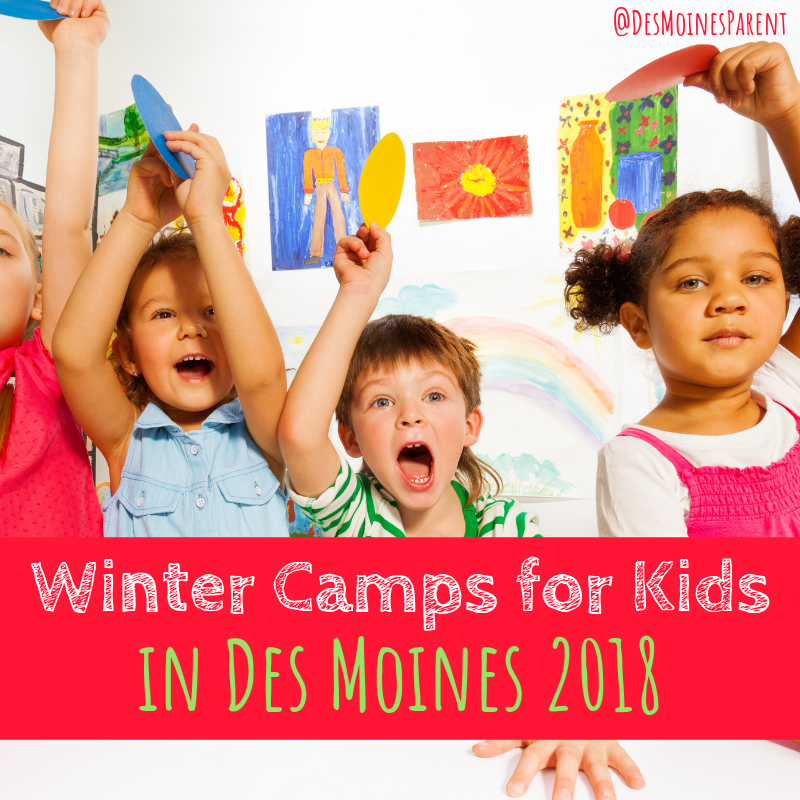 Winter Camps For Kids In Des Moines Iowa This Season