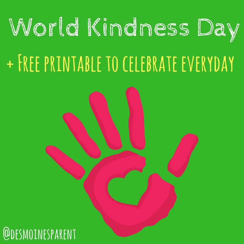 World Kindness Day + Kindness Every Day!