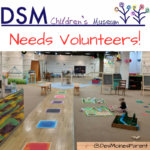 Volunteer at the Des Moines Children's Museum!
