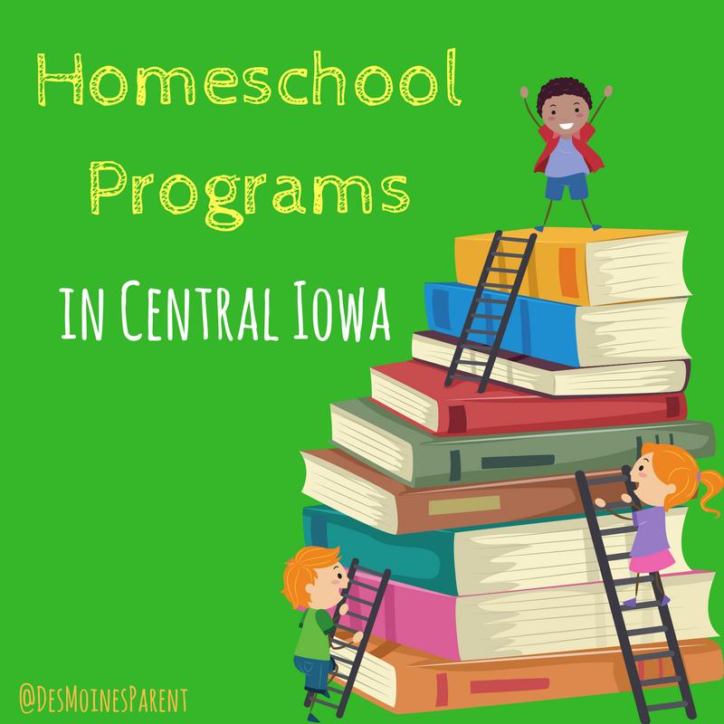 Homeschool Programs in Central Iowa