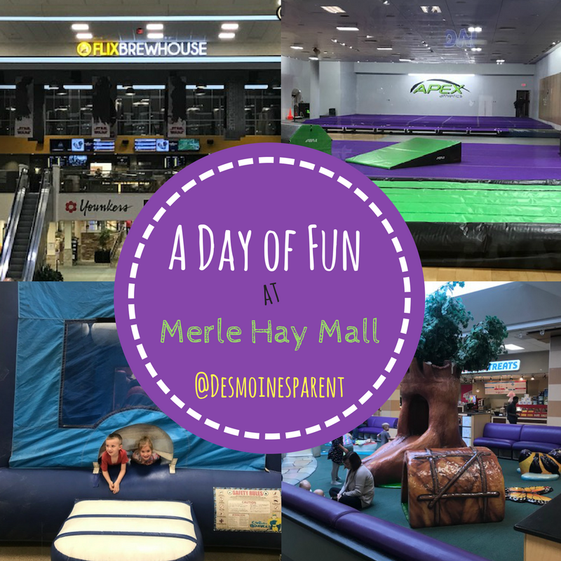A Day of Fun at Merle Hay Mall