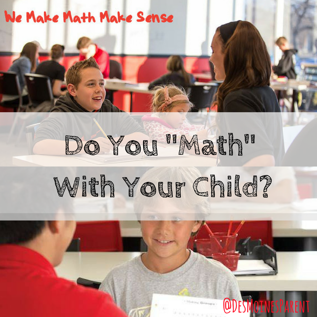 "Do You ""Math"" With Your Child?"