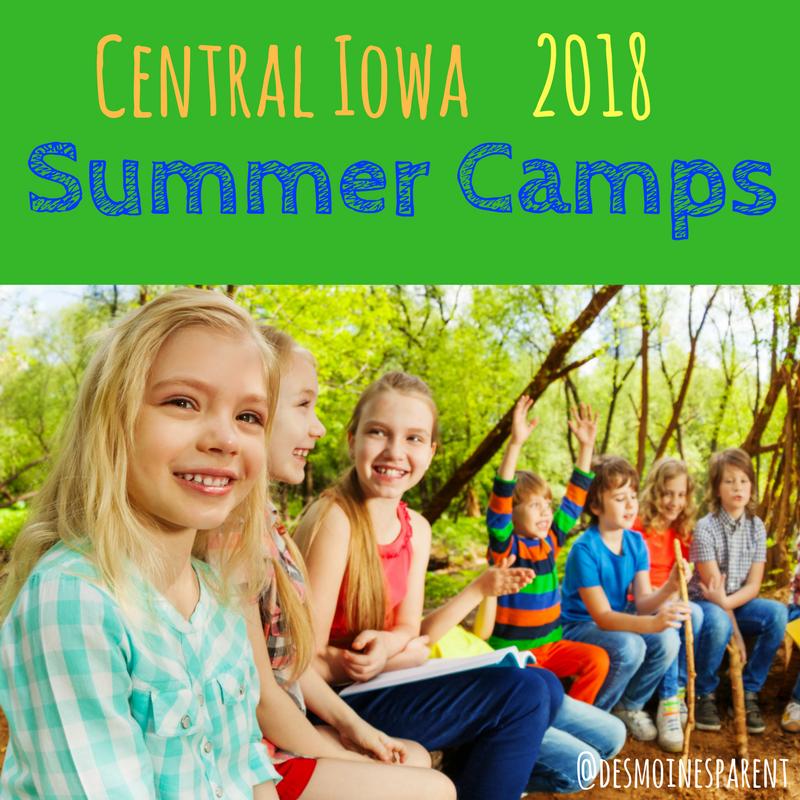 Des Moines Summer Camp 2018