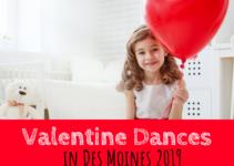Valentine's Day, Des Moines, Valentine Dances