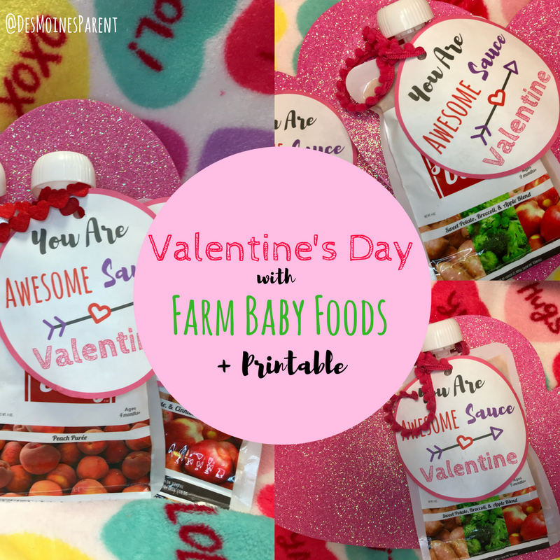 Valentine's Day with Farm Baby Foods