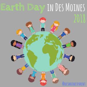 Earth Day, Des Moines, Iowa