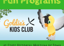 Goldie's Kids Club, State Historical Museum of Iowa, Des Moines