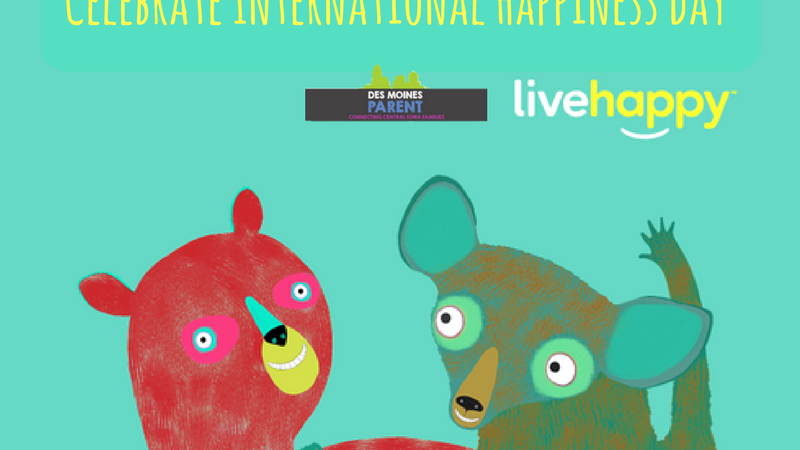 Happy Acts + Giveaways: Celebrate International Happiness Day