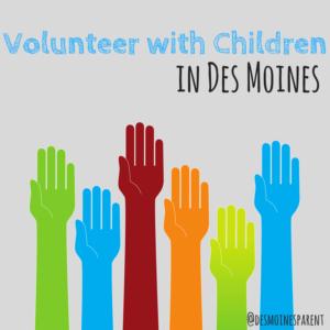 Volunteer, Children, Kids, Des Moines
