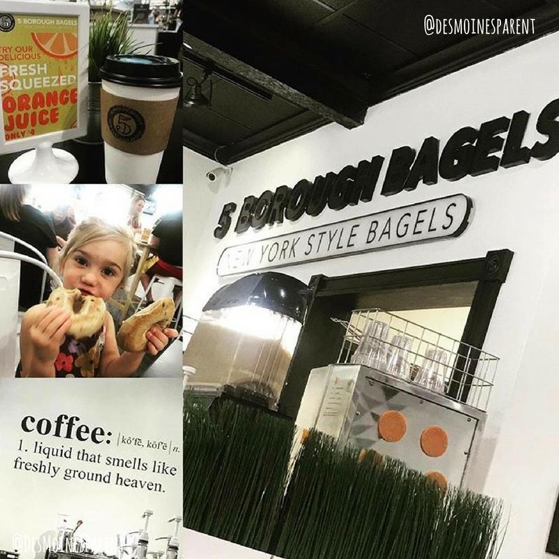 Des Moines, Iowa, Coffee, 5 Borough Bagels