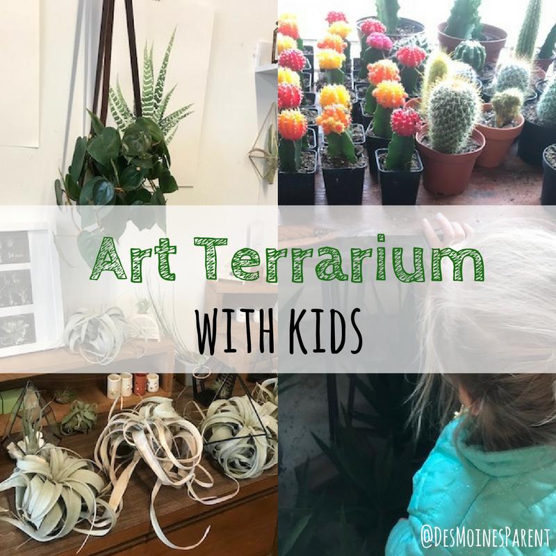 Art Terrarium, Des Moines, Downtown Des Moines, Plants