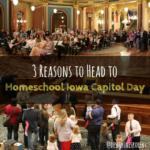 Homeschool Iowa, Capitol Day, Des Moines, Iowa
