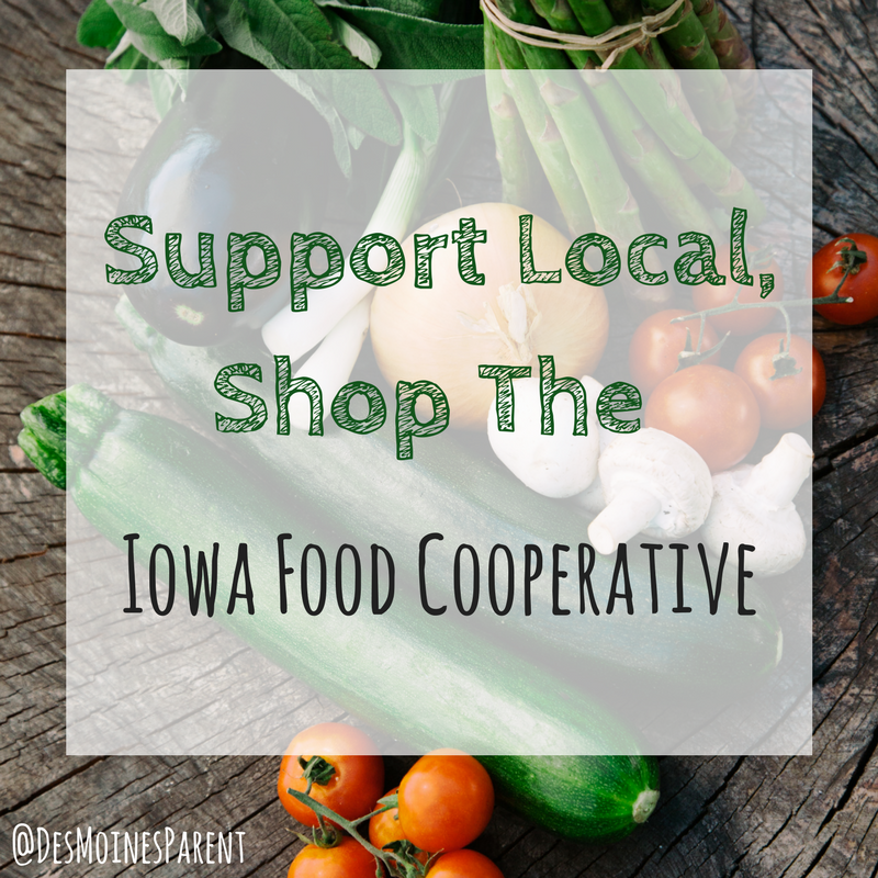 Support Local, Shop the Iowa Food Coop