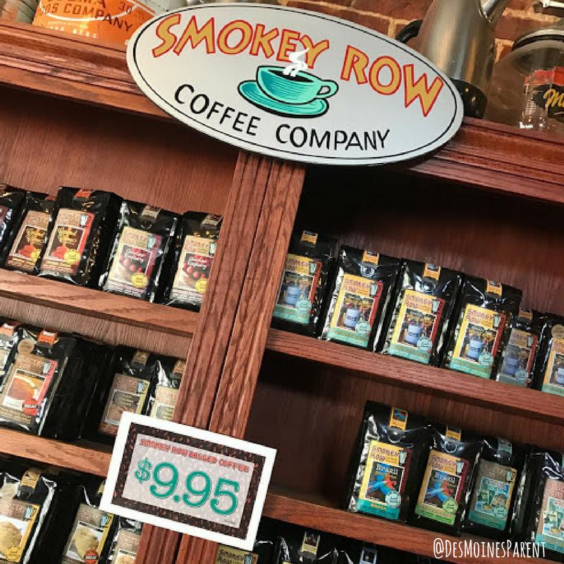 Des Moines, Iowa, Coffee, Smokey Row