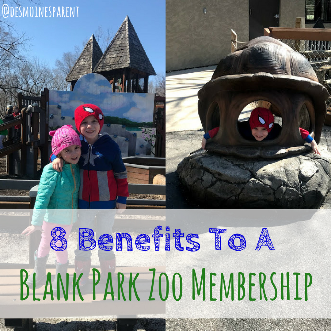 8 Benefits to a Blank Park Zoo Membership