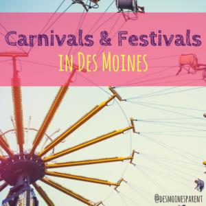 Des Moines, Iowa, Summer, Carnivals, Festivals