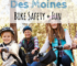 Des Moines, Iowa, Bike, bike rides, safety