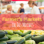Farmer's Markets in Des Moines