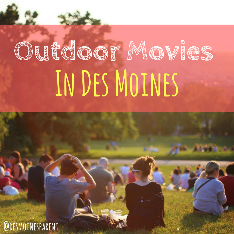 Outdoor, Movies, Des Moines, Iowa, Summer