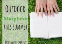 Outdoors, Storytime, Books, Des Moines, Iowa, Parks