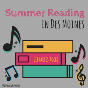 Summer Reading, Summer, Libraries, Des Moines, Books