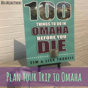 100 Things To Do In Omaha Before You Die, Omaha, Nebraska, book