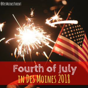Fourth of July, Des Moines, Iowa, Fireworks