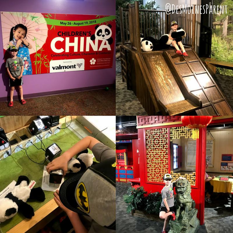 Children's China Exhibit, Omaha Children's Museum