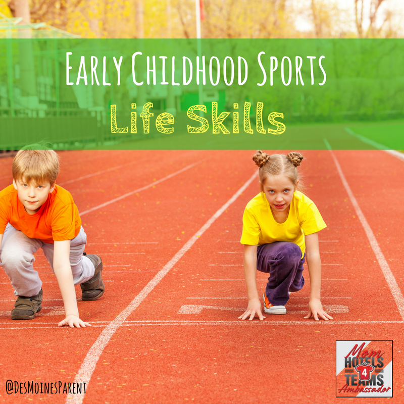 Early Childhood sports, toddlers, life skills, Hotels4Teams