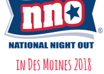 National Night Out, Des Moines, Iowa