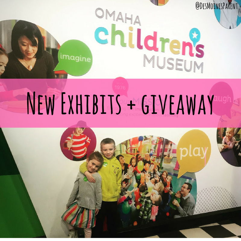 Omaha Children's Museum: New Exhibits + Giveaway!