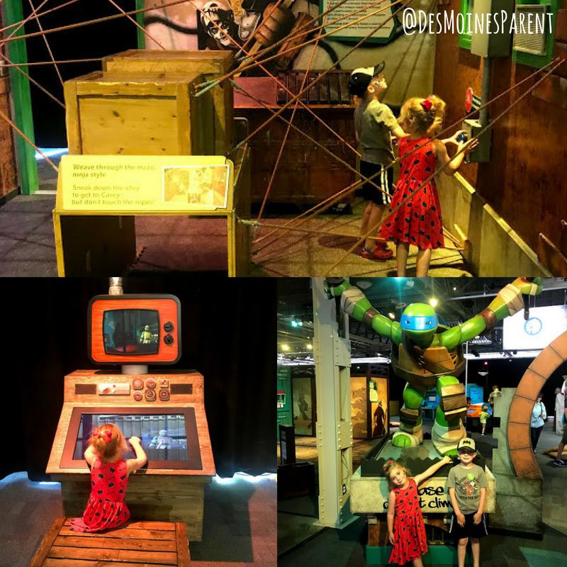 Nickelodeon's Teenage Mutant Ninja Turtles, Omaha Children's Museum