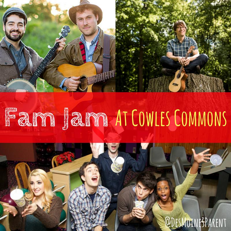 Fam Jam, Cowles Commons, Des Moines Performing Arts