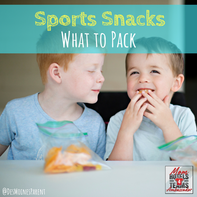 Sports Snacks: What to Pack!