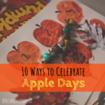10 Ways to Celebrate Apple Days