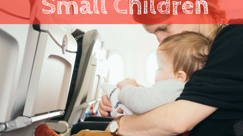 Tips + Tricks for Flying with Small Children