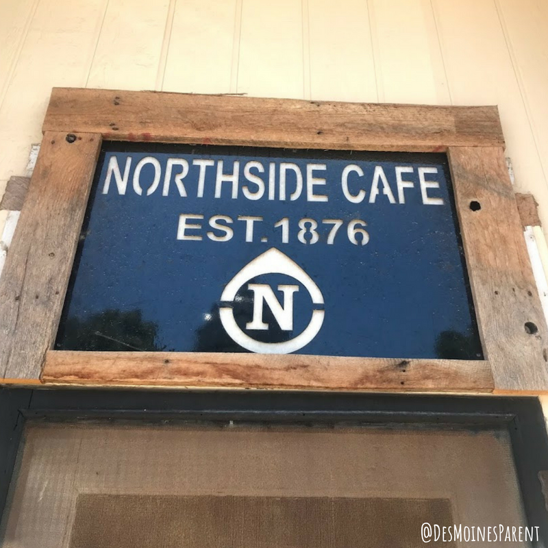 NorthSide Cafe, Winterset, Iowa